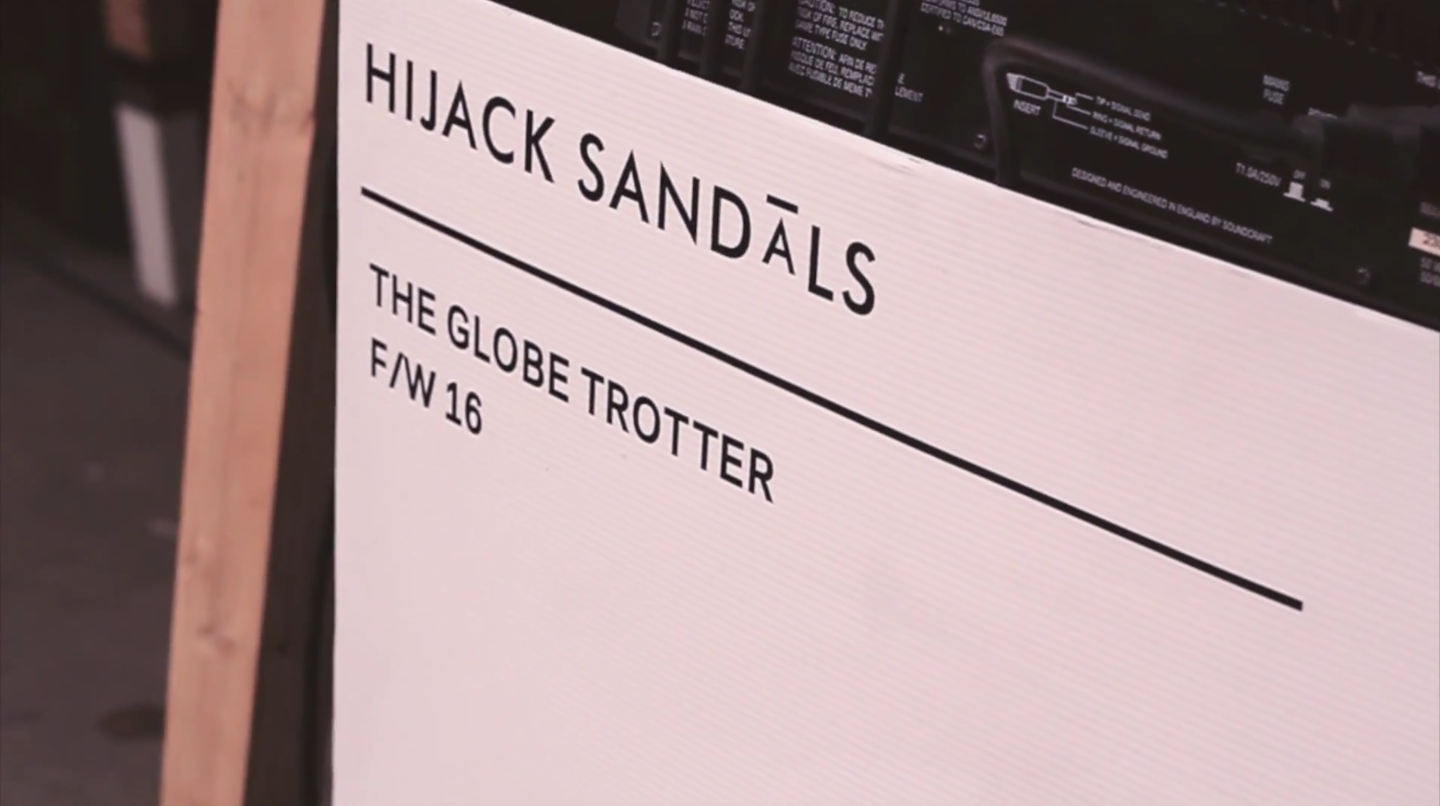 THE GLOBE TROTTER – 5TH ANNIVERSARY HIJACKSANDALS