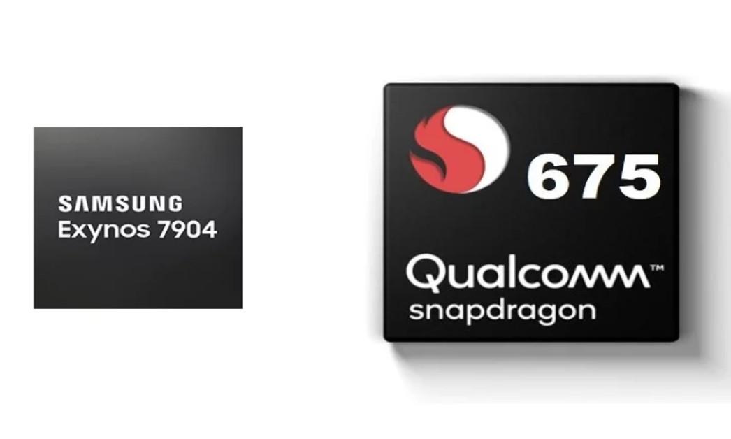 Exynos 7904 vs Snapdragon 675