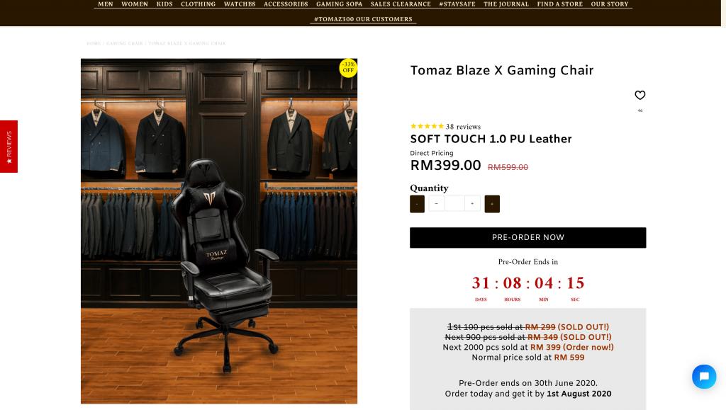 Tomaz Blaze X