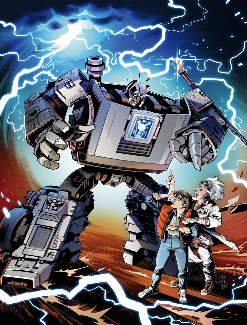 gigawatt transformers back to the future