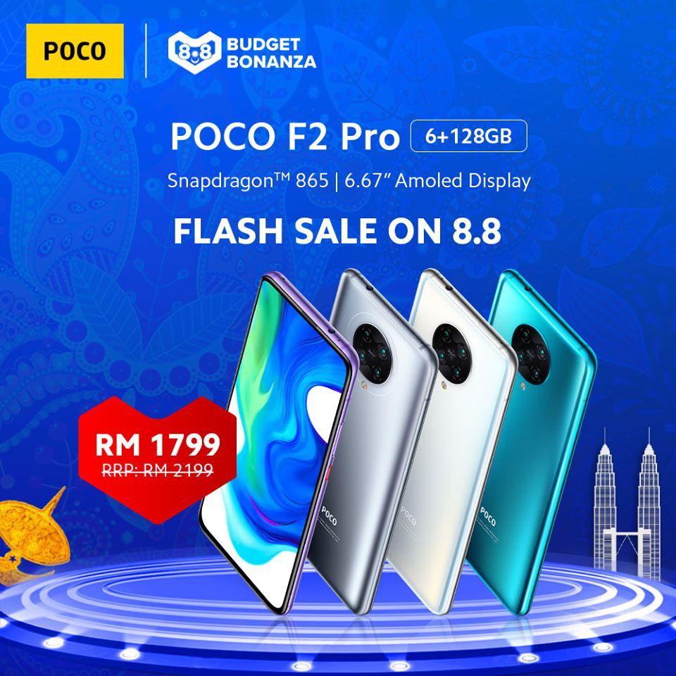 harga promosi POCO F2 Pro