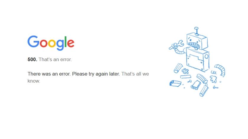 Gmail ada masalah