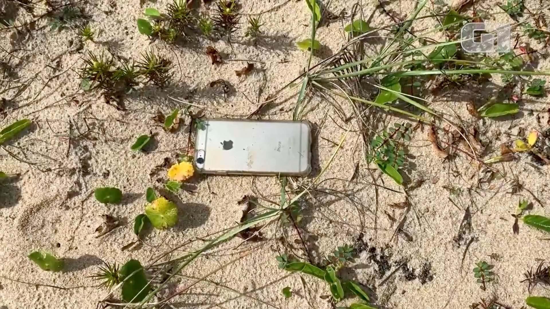 iPhone 6s jatuh