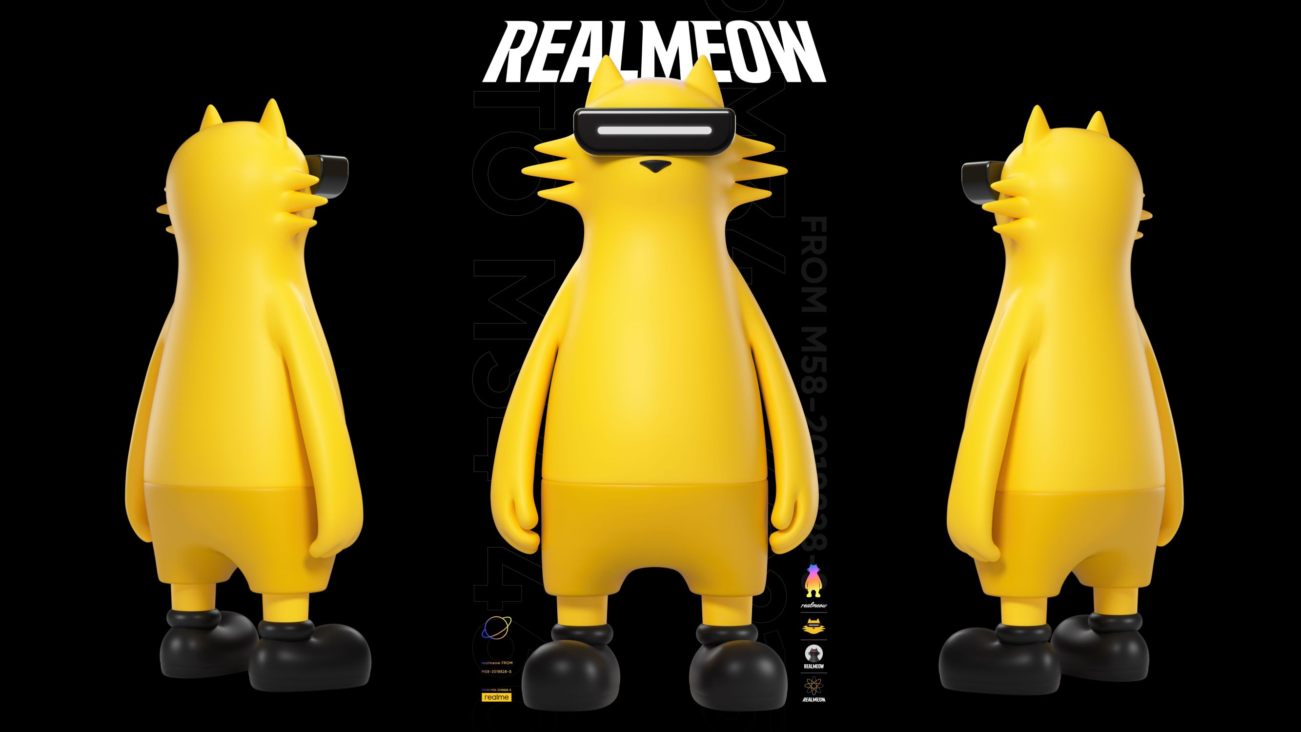realmeow maskot realme