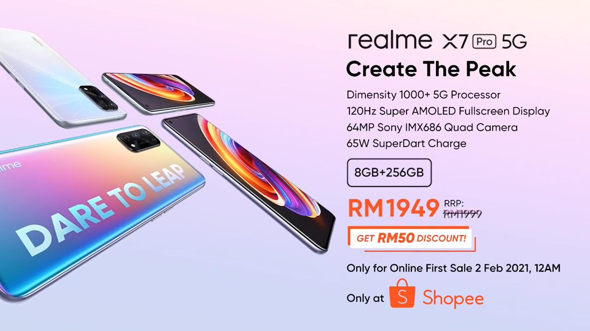 realme X7 Pro Malaysia