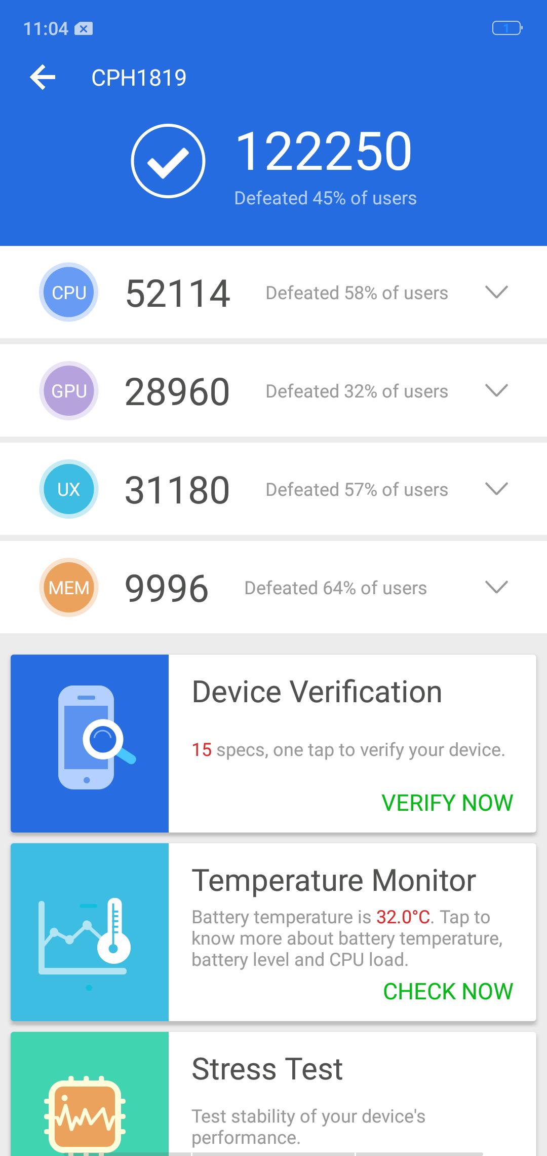 OPPO F7 vs Redmi Note 5 Pro benchmarks 7