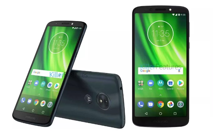 Moto G6 Play leaked