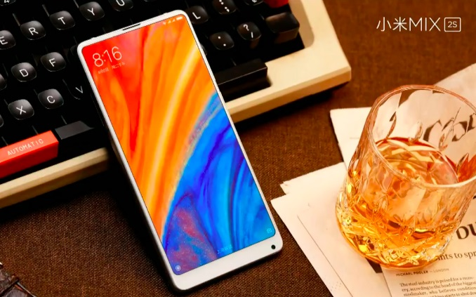 Mi Mix 2s launched