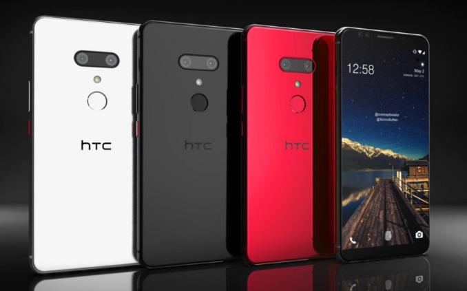 HTC U12+ concept renders