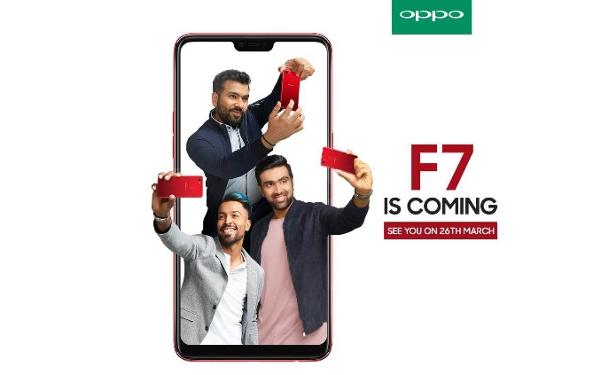 Oppo F7 to release on March 26