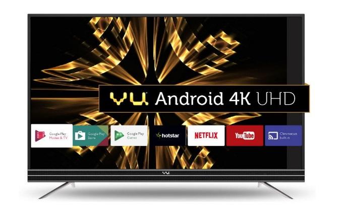 Vu Android 4K UHD LED TV