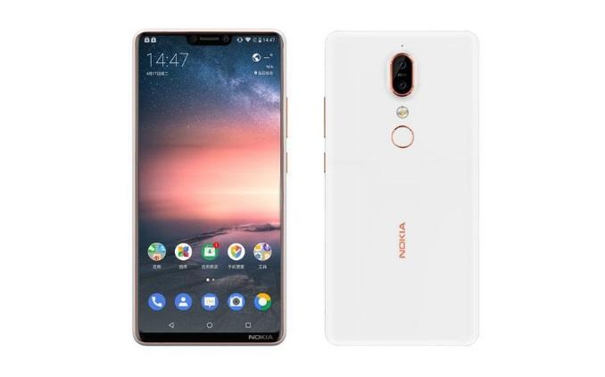 Nokia X6 - leaked render