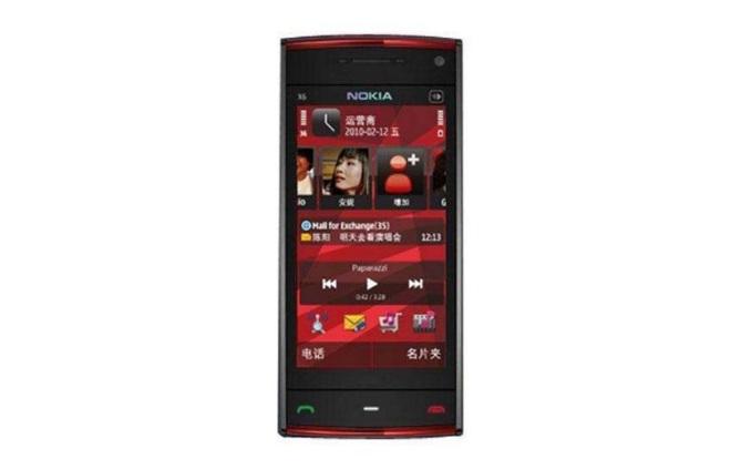 Nokia X6 2009