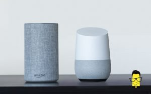Google Home vs Amazon Echo 1