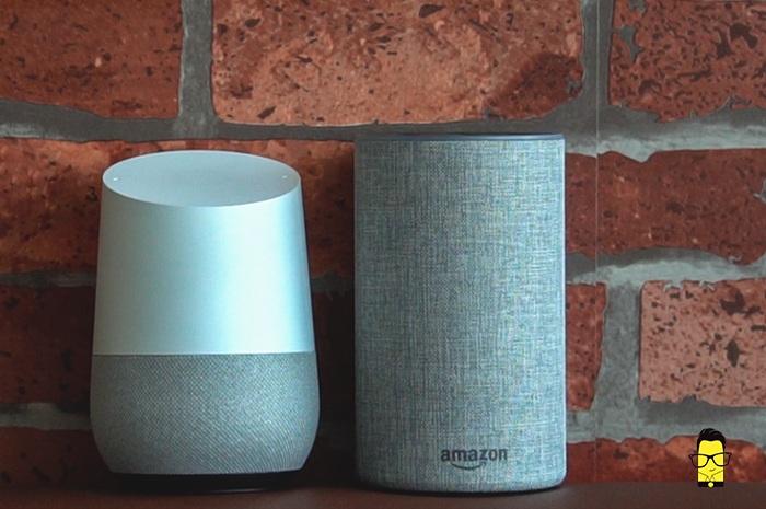 Google Home vs Amazon Echo 2