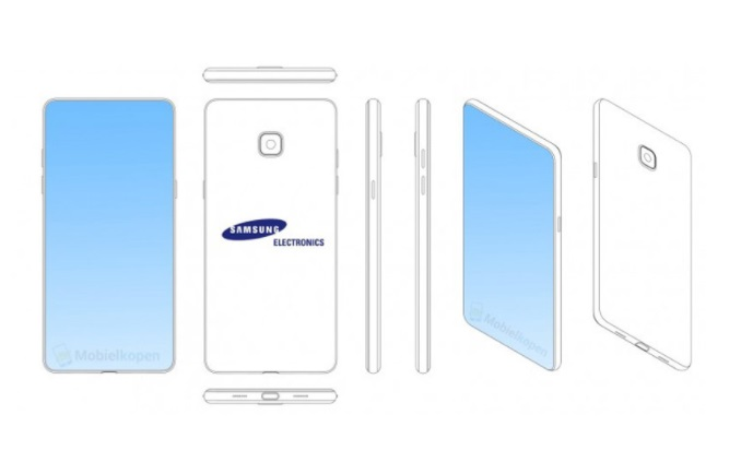 Samsung files a new patent