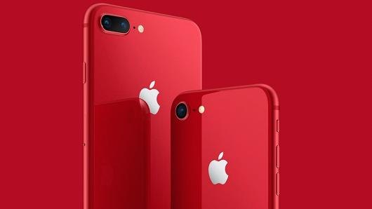 (PRODUCT) RED iPhone 8