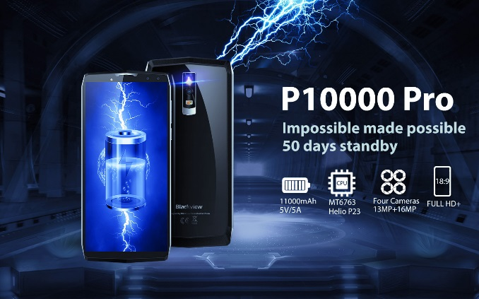 Blackview P10000 Pro with massive battery launched