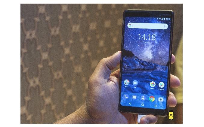 Nokia 7 Plus, product shot