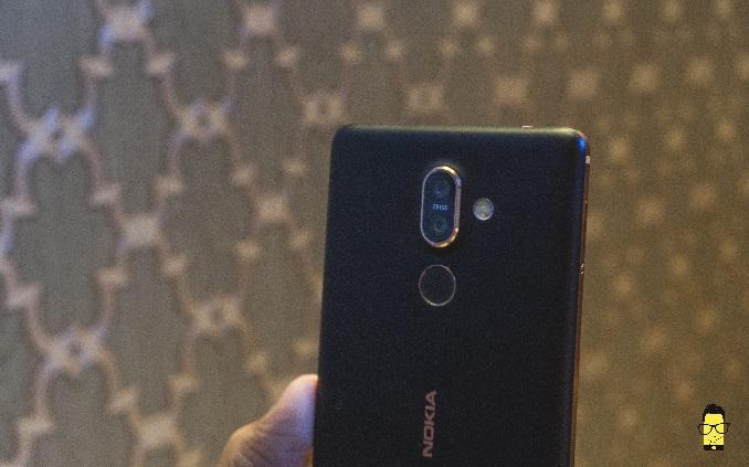 Nokia 7 Plus camera setup