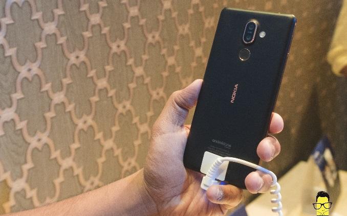 Nokia 7 Plus Product Shot