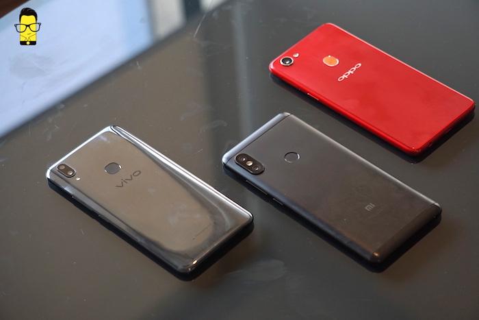OPPO F7 vs Vivo V9 vs Redmi Note 5 Pro camera comparison 1
