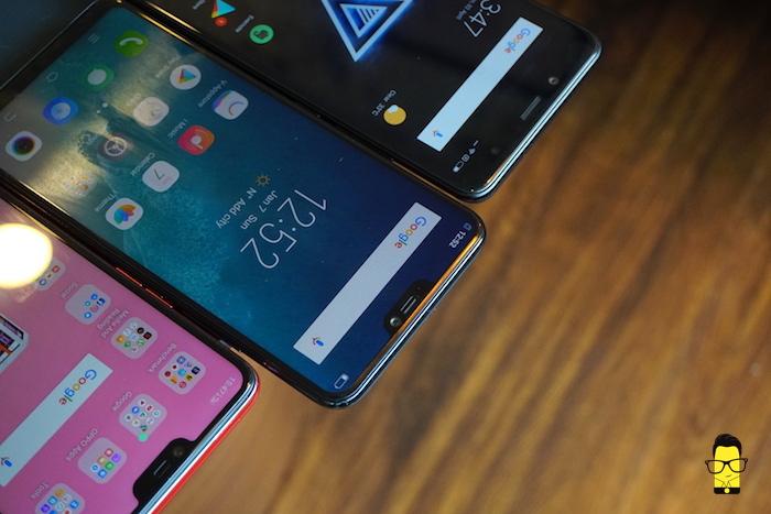 OPPO F7 vs Vivo V9 vs Redmi Note 5 Pro camera comparison 2
