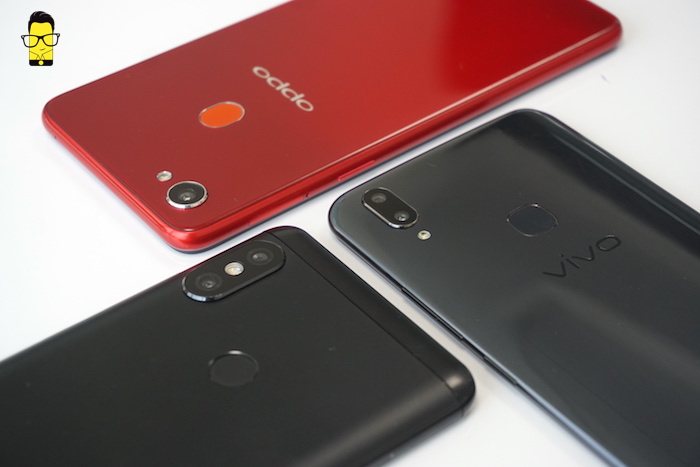 OPPO F7 vs Vivo V9 vs Redmi Note 5 Pro camera comparison 5