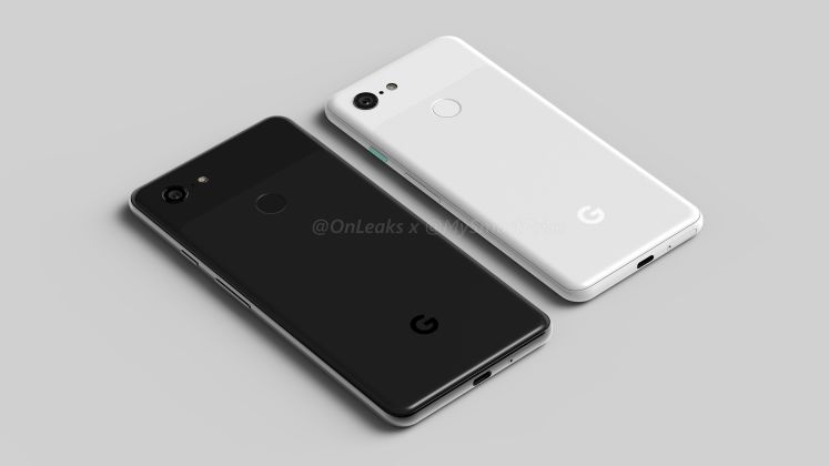 Pixel 3 and Pixel 3 XL Rear