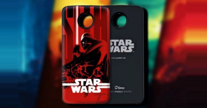Moto Mods Star Wars edition