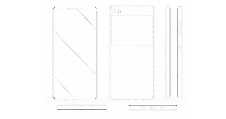 Samsung Smartphone - Patent Design