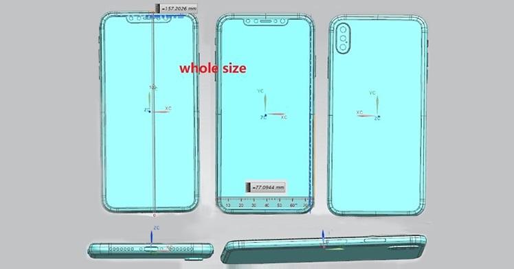 Apple iPhone X Plus Schematics
