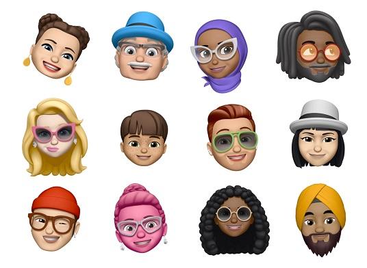 iOS12 - Apple Memoji