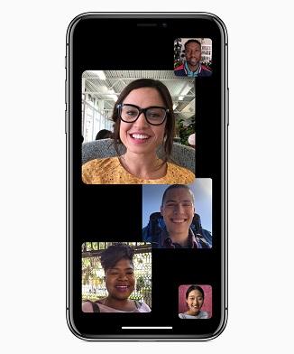 iOS12 - FaceTime