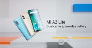 Mi A2 Lite feature