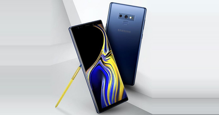 Samsung Galaxy Note 9 - Press renders