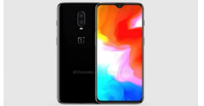 OnePlus 6T leaked render and video