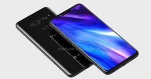 LG V40 ThinQ leaked image