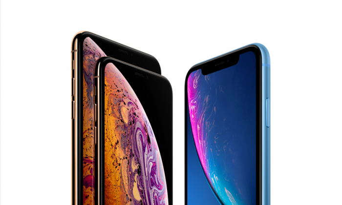 iPhone XR , XS, and XS Max