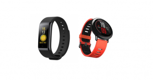 Amazfit Pace and Cor