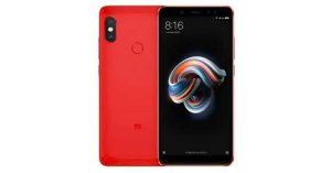 Xiaomi Redmi Note 5 Pro - Red