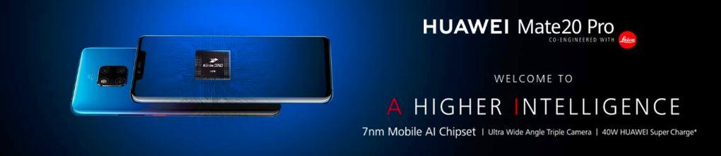 Huawei Mate 20 Pro - Amazon India teaser
