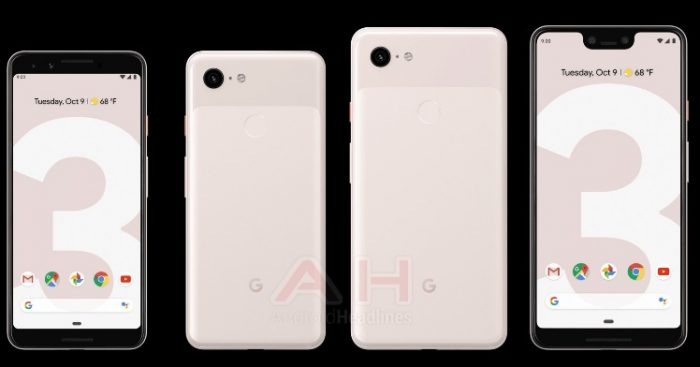 Pixel 3 and Pixel 3 XL leaked colour variant