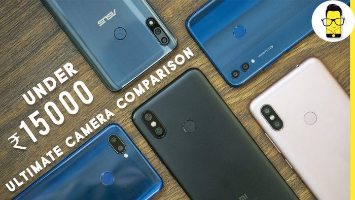 Phones under Rs 15,000 camera comparison