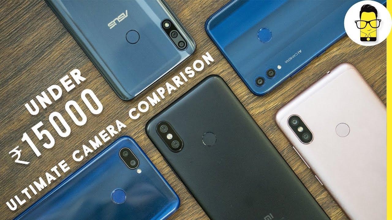 Phones under Rs 15,000 camera comparison