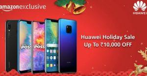 Huawei Holiday Sale - Huawei P20