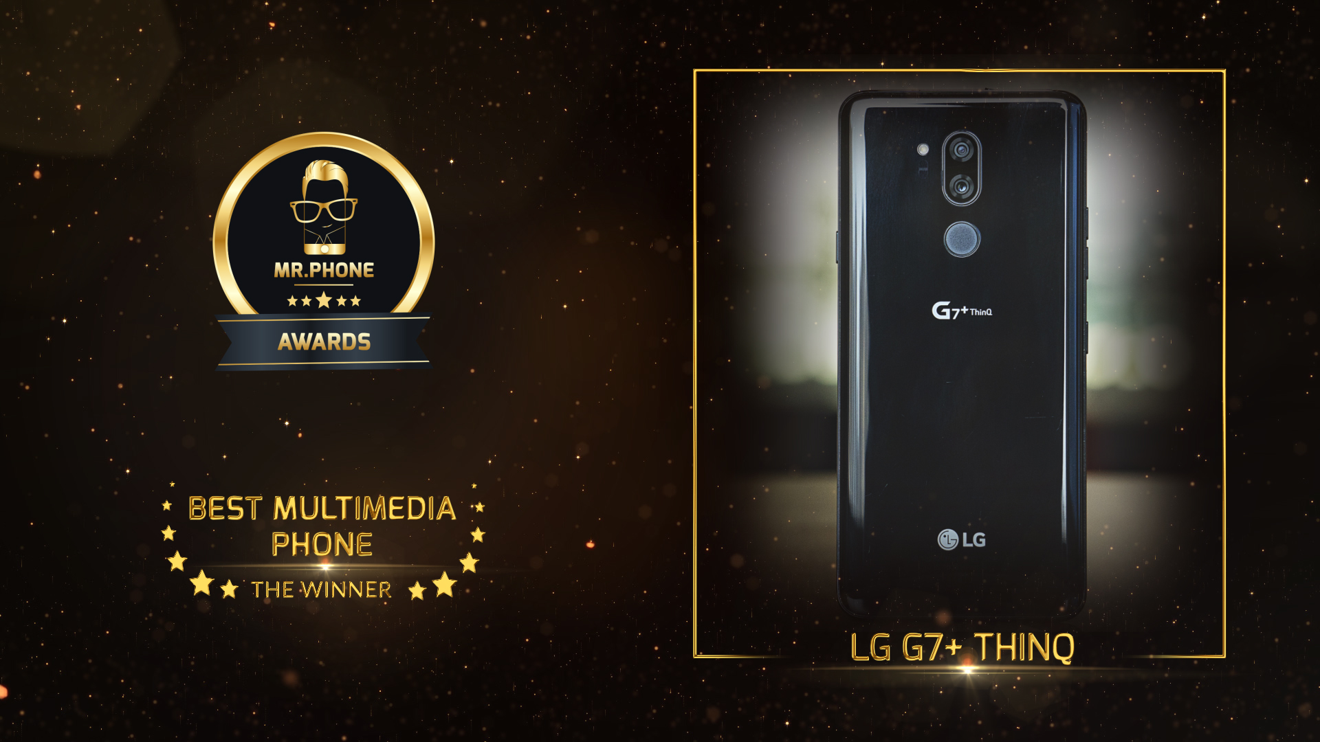 Mr. Phone Best Multimedia Phone 2018 - LG G7+ ThinQ
