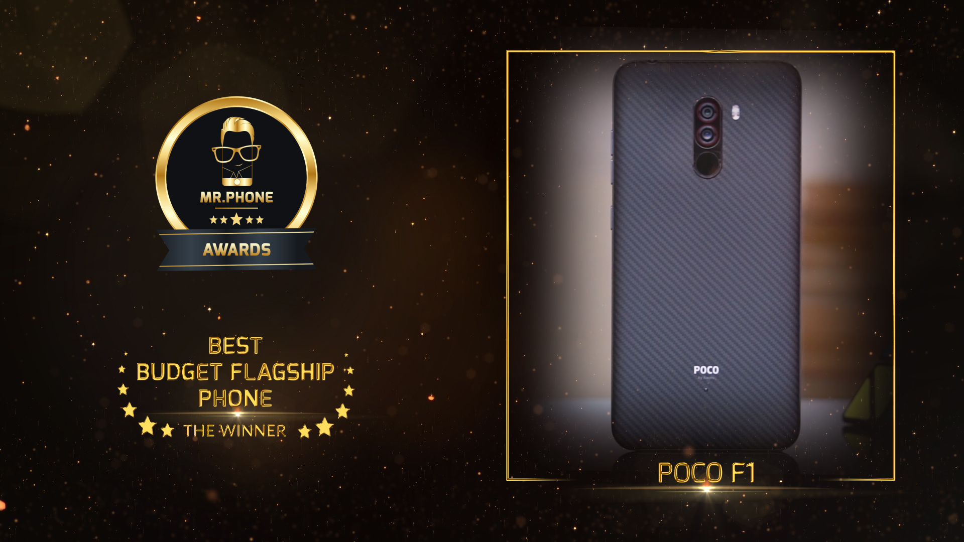 Mr. Phone Best Budget Flagship Phone 2018 - Poco F1