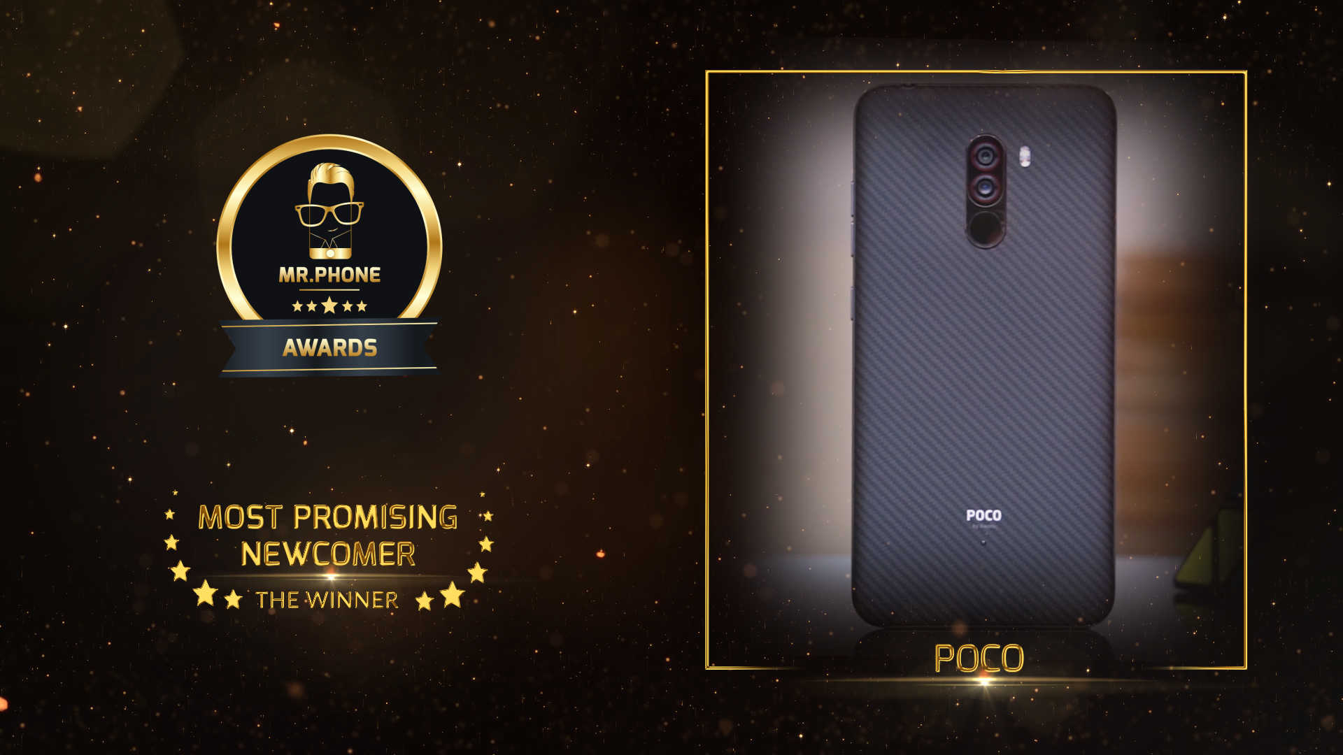 Mr. Phone Best Newcomer 2018 - Poco