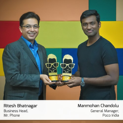 Manmohan Chandolu, General manager, Poco India
